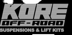 KORE INC. - Dodge RAM Lift Kits - Dodge RAM Suspension