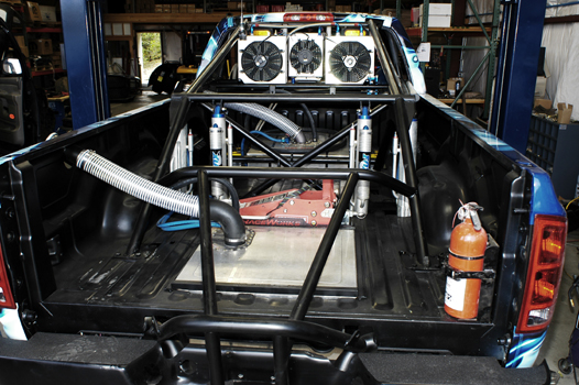 Kore Rear Cage Work