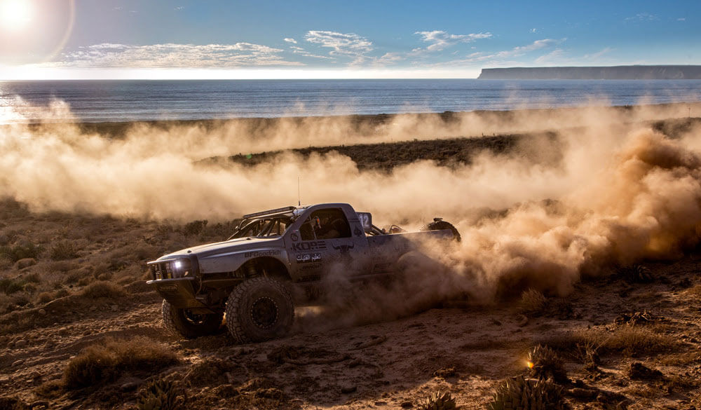 Baja Racing Dodge Ram Truck